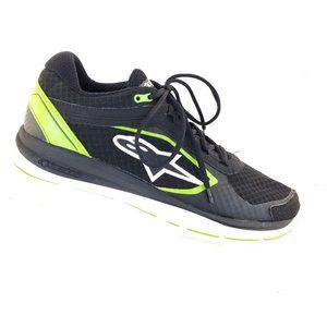 Alpinestars Mens Athletic Shoes Black Lace Up Low